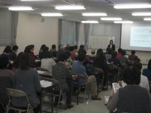 111130コープ香川主催終活セミナーの様子(明石久美)